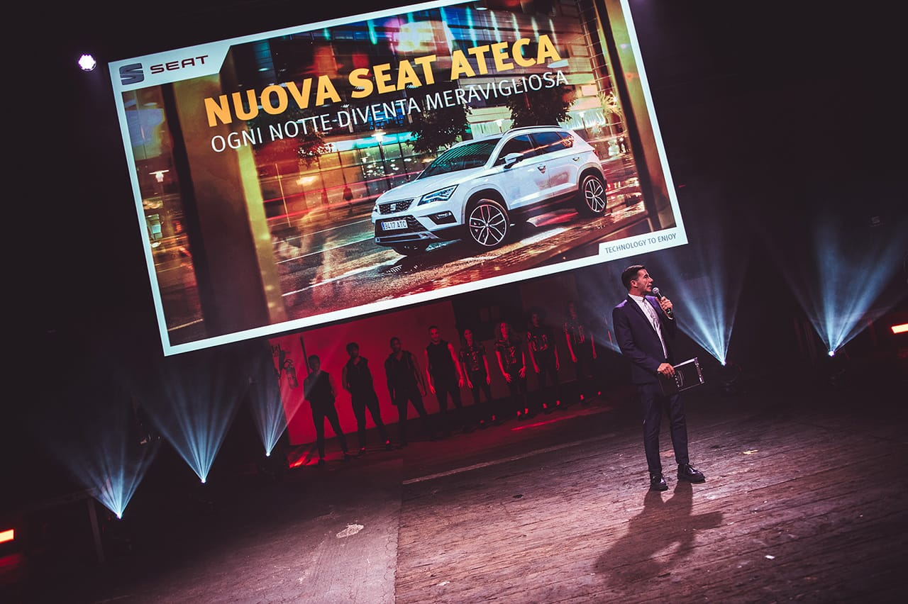 seat ateca celebration corporate brand activation product engagement 16