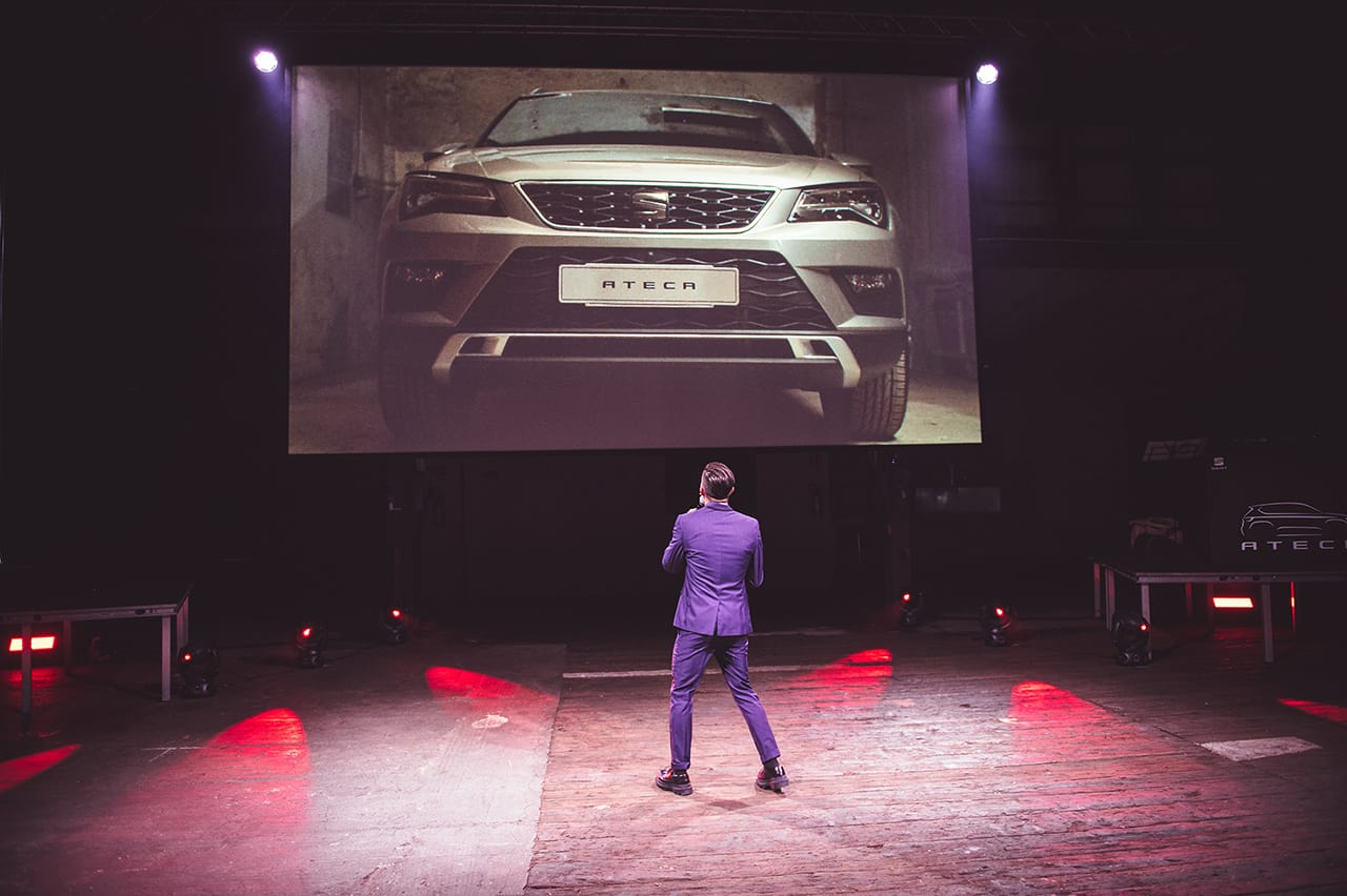 seat ateca celebration corporate brand activation product engagement 5