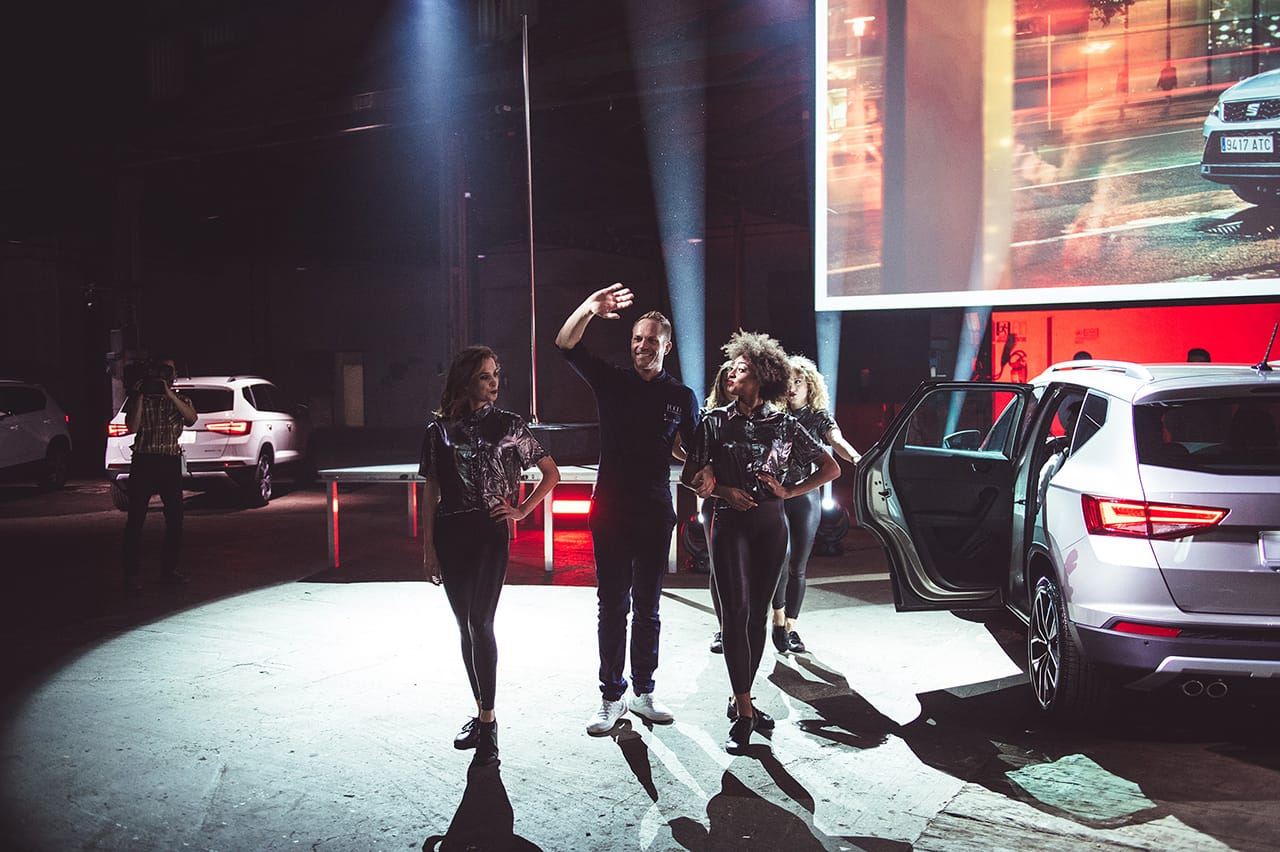 seat ateca celebration corporate brand activation product engagement 9