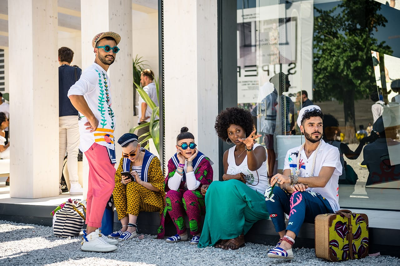mini pitti uomo 92 brand activation 4 people